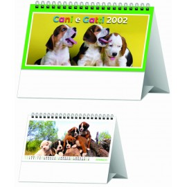 Calendario da Tavolo Portoghese Formato 19x14 Cm